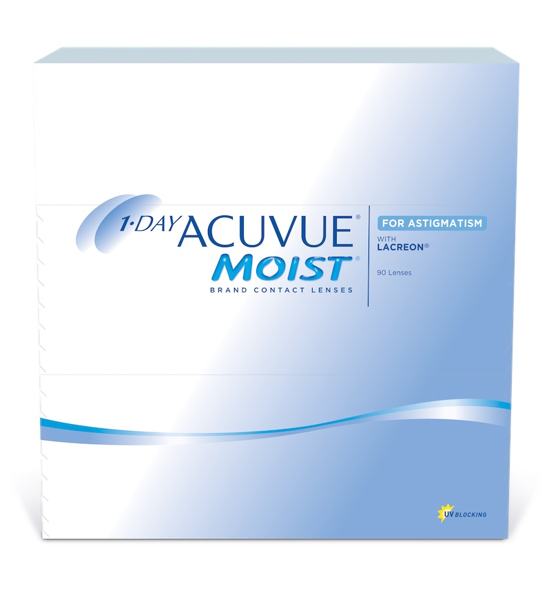 Acuvue 1-Day Moist for Astigmatism